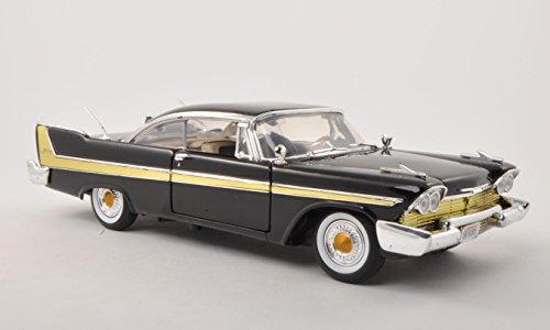 plymouth-furore-nero-1958-modello-di-automobile-modello-prefabbricato-motormax-118-modello-esclusiva