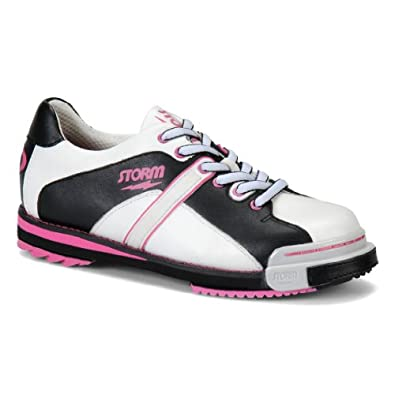 SP 602 Womens Bowling Shoes by Storm- White/Black/Pink (8)
