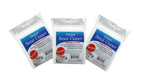 Travel Disposable Toilet Seat Covers 3pack - 1