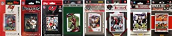 NFL Tampa Bay Buccaneers 8 Different Licensed Trading Card Team Sets by C&I Collectables