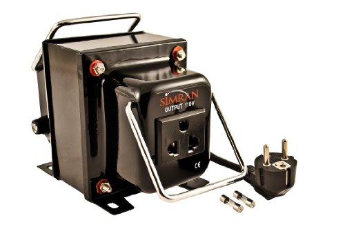 Simran THG-1500 Step Down Voltage Transformer 1500 Watts Converts AC 220 / 240 Volt  to 110 Volt