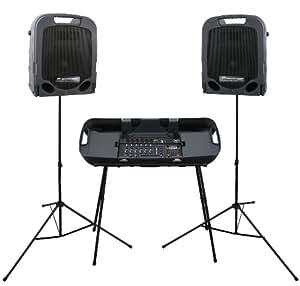 Amazon.com: Peavey Escort 3000 - 300W 7-Channel, Two-Way Speaker