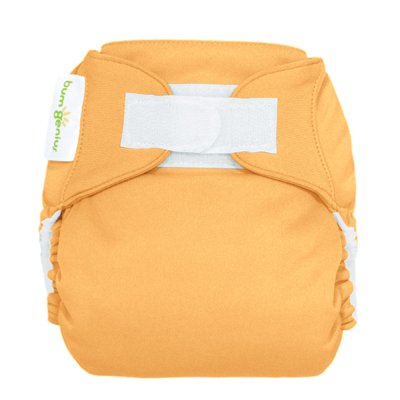 Freetime (Velcro) Aio Diaper With Stay Dry Liner - Clementine front-739703