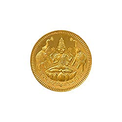 Joyalukkas 22k (916) 8 gm BIS Hallmarked Yellow Gold Precious Coin