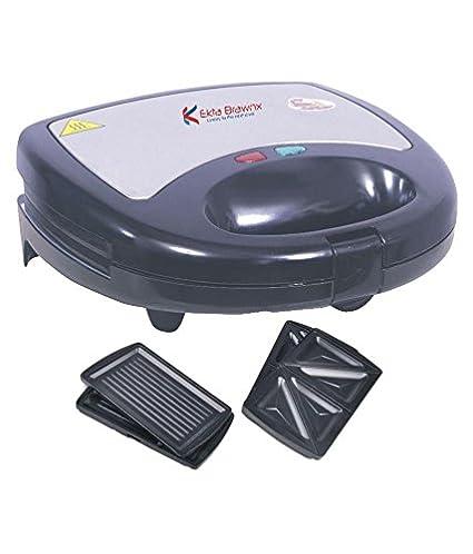 Ekta Brawnx X2-5503 750W Sandwich Maker