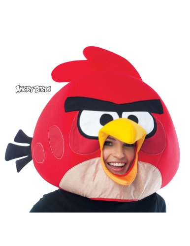 Angry Birds Red Mask Adult - Halloween Mask