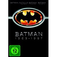 Batman 1989-1997 [4 DVDs]