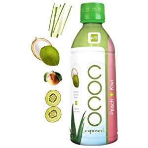 COCO Exposed Peach+kiwi 330ml*12