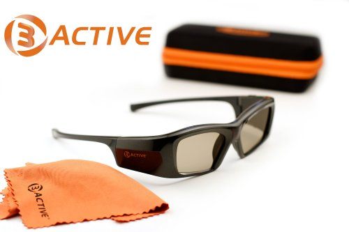 3ACTIVE-PANASONIC-Compatible 3ACTIVE 3D Glasses.