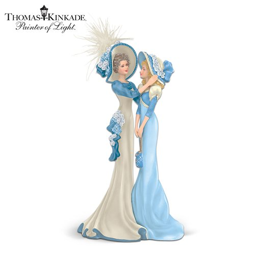 Thomas Kinkade My Granddaughter, Now My Cherished Friend Figurine