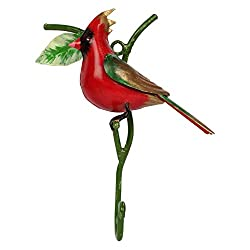 Wonderland hooks RED cardinal(Garden Decor, Home Decor)