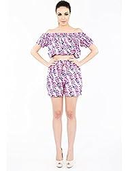 Natalie Dot Print Shorts