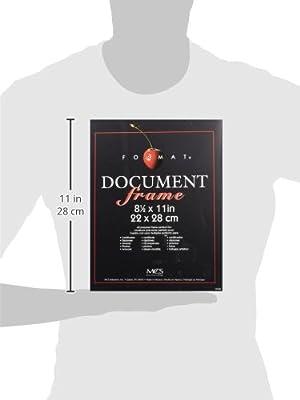 """MCS Black Format Frame - 8.5x11"""" (40957)"""