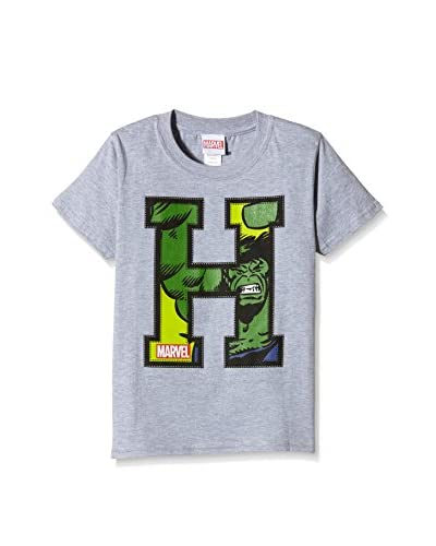 MARVEL Camiseta Manga Corta Applique Hulk