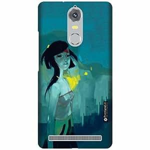 Printland Designer Back Cover for Lenovo K5 note - Beauty Case Cover