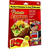 Potato Express Microwave Potato Cooker (Single Cooker)