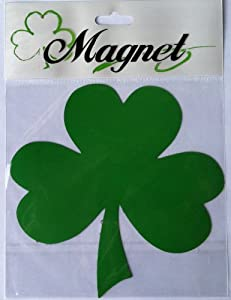 Lucky Shamrock Car Magnets-5.5 Inches