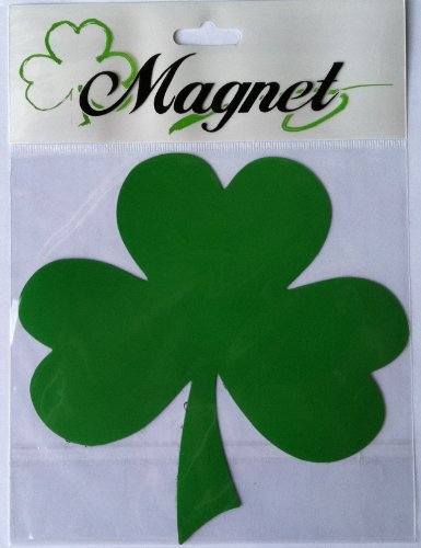 Lucky Shamrock Car Magnets-5.5 Inches - 1