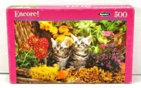 Encore! 500 PC Jigsaw Puzzle - Two of a Kind - 1