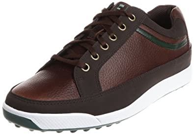 FootJoy Contour Casual Spikeless 54275 Men's Brown 10 Narrow US