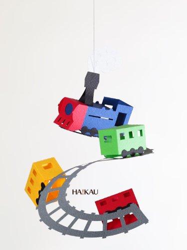 【ペパモ】 ペーパー モビール キット キュートな ペーパークラフト トレイン