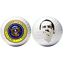 12 Barack Obama Golf Balls w/Presidential Seal