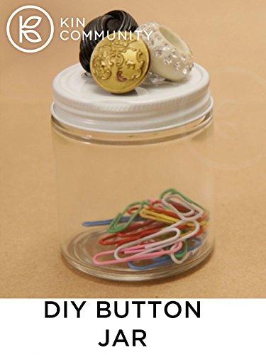 DIY Button Jar