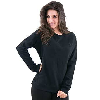Champion Women s Eco Fleece Crew Neck 5e17d103a0