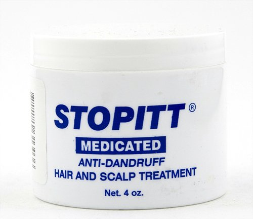 Stopitt Medicated Anti-Dandruff Hair & Scalp Treatment 4 oz.