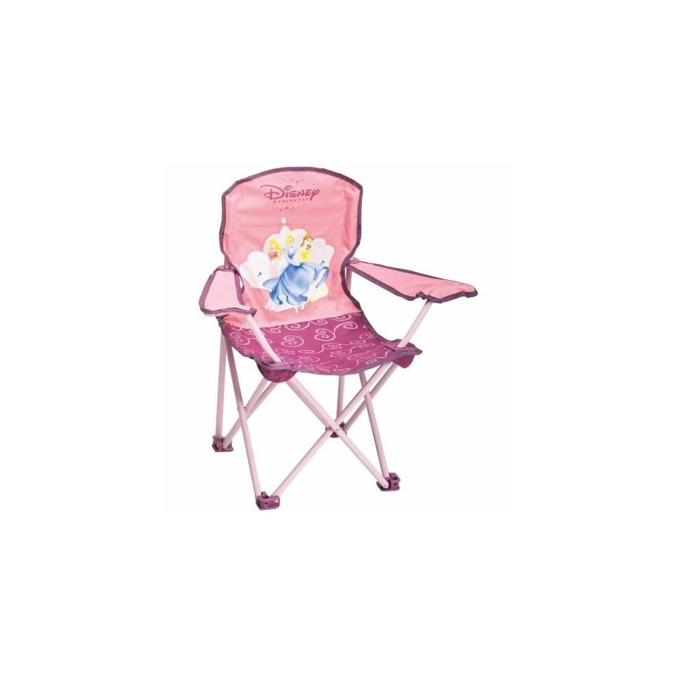 Exxel Outdoors Disney Princess Kids Folding Camp Chair On