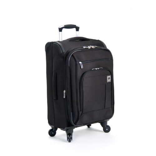 Delsey Helium Superlite Spinners Carry-On, Black, One Size reviews