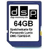 64GB Speicherkarte für Panasonic Lumix DMC-TZ41EG-K