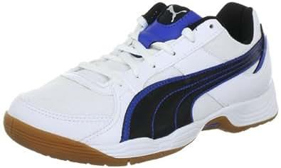 Puma Vellum III 102614, Unisex-Erwachsene Handballschuhe, Weiß (white-black royal 01), EU 37 (UK 4) (US 5)