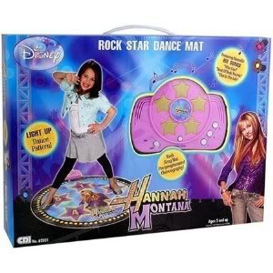 Creative Designs Educational Products - Hannah Montana Dance Mat (Made In High Quality Material) Jouets, Jeux, Enfant, Peu, Nourrisson