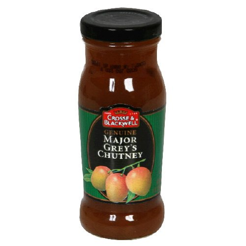 Crosse & Blackwell Genuine Major Grey's Chutney, 9-Ounce Bottles (Pack of 6)