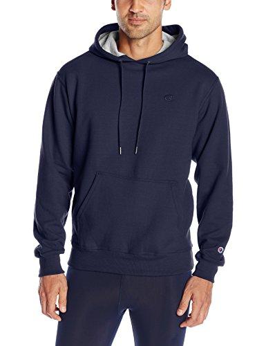 Champion Men's Powerblend Pullover Hoodie, Navy, X-Large
