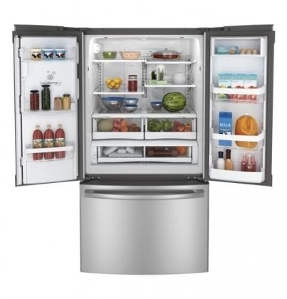 GE GFE29HSDSS 28.6 Cu. Ft. Stainless Steel French Door Refrigerator - Energy Star