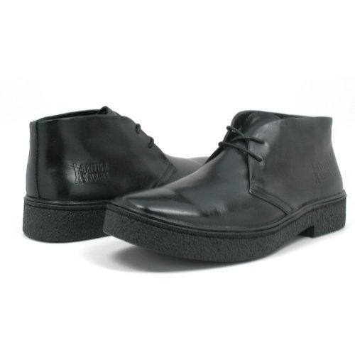 British Walkers Men's Playboy High top Chukka Boot, Black Leather, 9.5 M (British Walkers Playboy compare prices)
