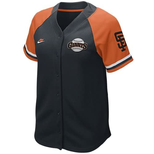 Nike San Francisco Giants Womens Quick Pick Cooperstown Baseball Jersey