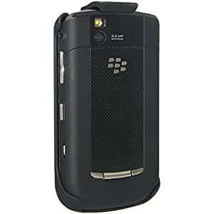 Amzer Rubberized Holster with Belt Clip for BlackBerry Tour 9630/Niagra 9630 - Black
