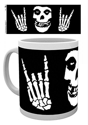 Set: The Misfits, Horns Tazza Da Caffè Mug (9x8 cm) E 1 Sticker Sorpresa 1art1®