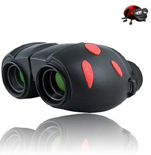 Attcl� Beetle Mini Tough Binoculars for Kids,Best Birthday Gift for Kids black