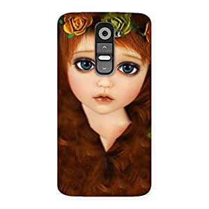 Delighted Tini Doll Multicolor Back Case Cover for LG G2