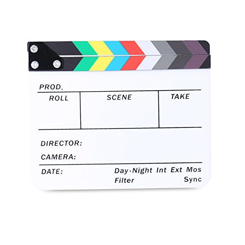 neewer-15-x-12-cm-acryl-trocken-abwischbarer-directors-film-clapboard-schiefer-mit-color-sticks