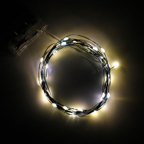 SUPERNIGHT Warm White LED Outdoor String Lights 2M Portable Waterproof LED Soft Rope Light Festival Starry Starry Light Color: 2M-Soft wire-Warm white Model: (Hardware & Tools Store)