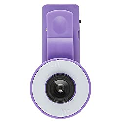 2 IN 1 CLIP SELFIE FLASH FILL LIGHT WITH BUILTIN WIDE ANGLE LENS - FITS ALL MAJOR MOBILE MODELS LIKE IPHONE 5 5S 6S 6 PLUS SAMSUNG S5 S6 NOTE 3 NOTE 4, MOTOROLA, HTC, XIAOMI ETC