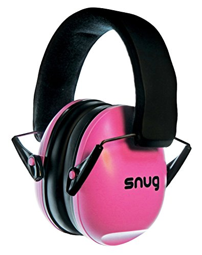 Snug Safe n Sound Kids Earmuffs / Hearing Protectors - Adjustable Headband Ear Defenders For Children and Adults (Pink) (Kids Ear Muffs compare prices)