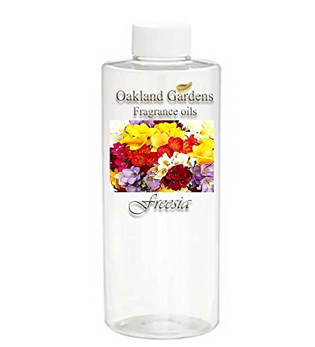 """Freesia Fragrance Oil - 100% Pure Premium Grade Oil - Uncut - This Is A Clean, Fresh Floral Of Freesia Flowers. Not Too """"Flowery"""", With A Delicate Crispness To It - By Oakland Gardens"""
