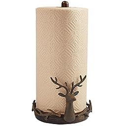 Deer Paper Towel Holder by Mud Pie