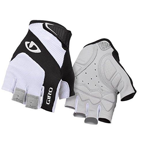Giro, Guanti ciclismo Unisex Monaco, Bianco (white/black), XXL